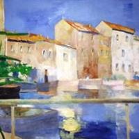 Pejzaż z Saint Tropez- 100/70 olej