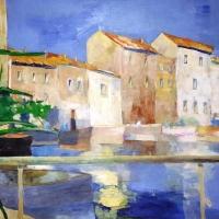 Saint Tropez, olej 100/70 cm